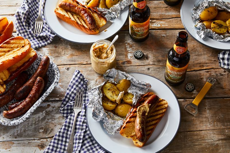Before you hit the campground, pick up a six-pack of Breckenridge Brewery's Summer Pilsner—it's the best way to wash down some hot-off-the-grill brats.