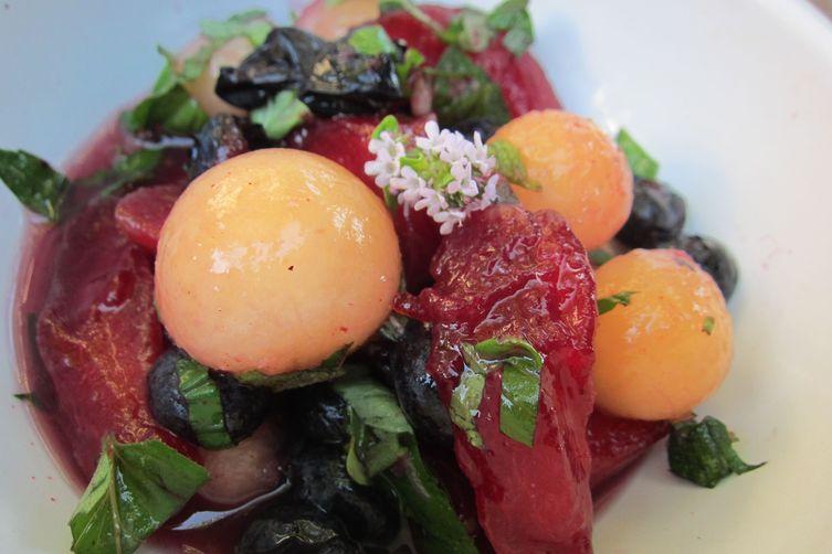 Signs of Summer Fruit Salad