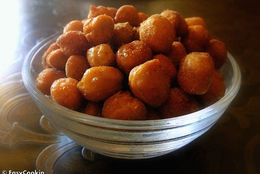 Spicy Oven Roasted Chickpeas Snack