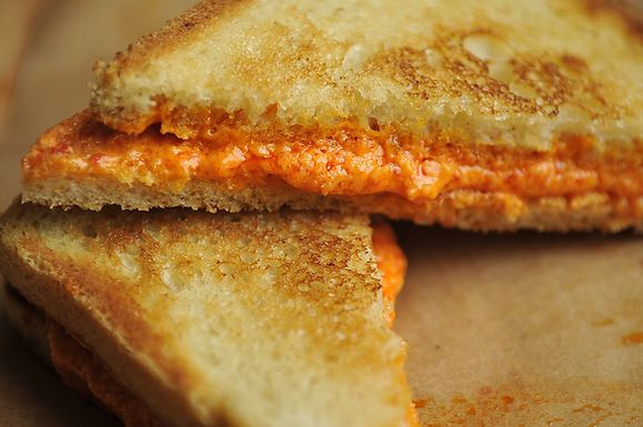 Grilled Pepper Cheese Sandwich