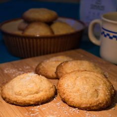 Coconut and Lemon Cookies (gluten and dairy free!)
