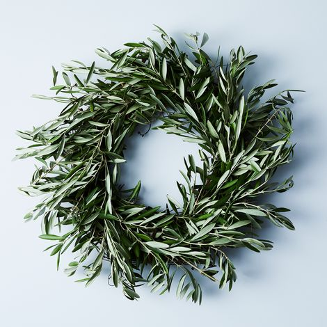 Dried Wild Olive Wreath