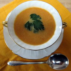 Creamy Carrot-Ginger Soup