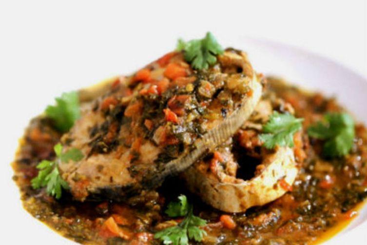 Sindhi Methi Machi (Fish With Fenugreek)
