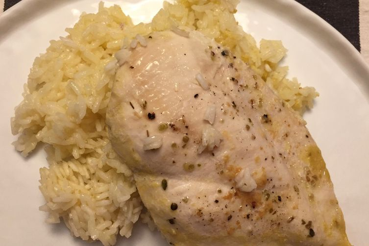 one pot chicken and brown rice recipe yummly one pot chicken rice ...