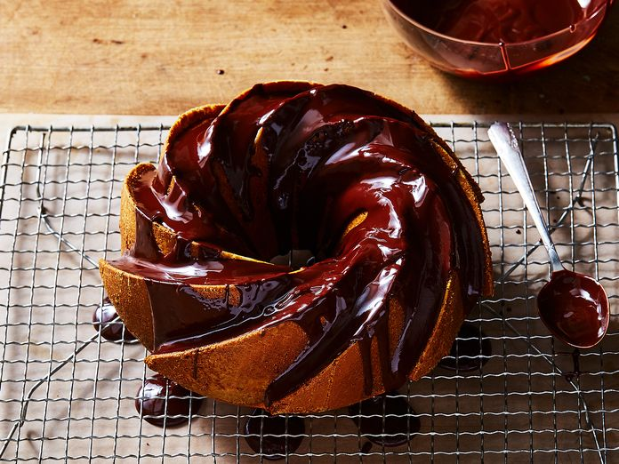 A Genius, Chocolate-Splashed Bundt Cake for Halloween (and All Other Days)