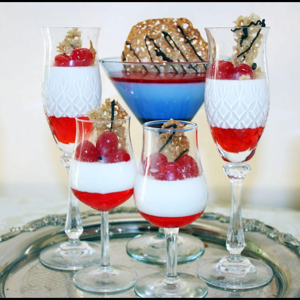 Maraschino Cherry Panna Cotta Recipe On Food52