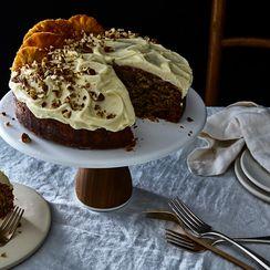 Hummingbird Cake with Buttermilk Glaze