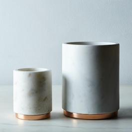 Marble & Copper Canister