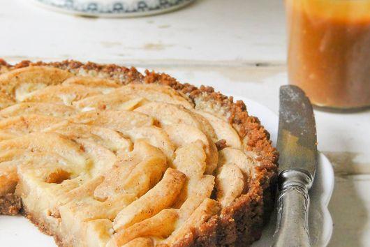 Speculoos tart crust
