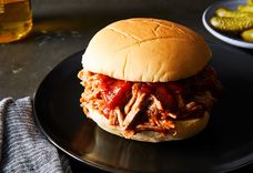 5-Ingredient Pulled Pork Sandwiches—Homemade BBQ Sauce Included