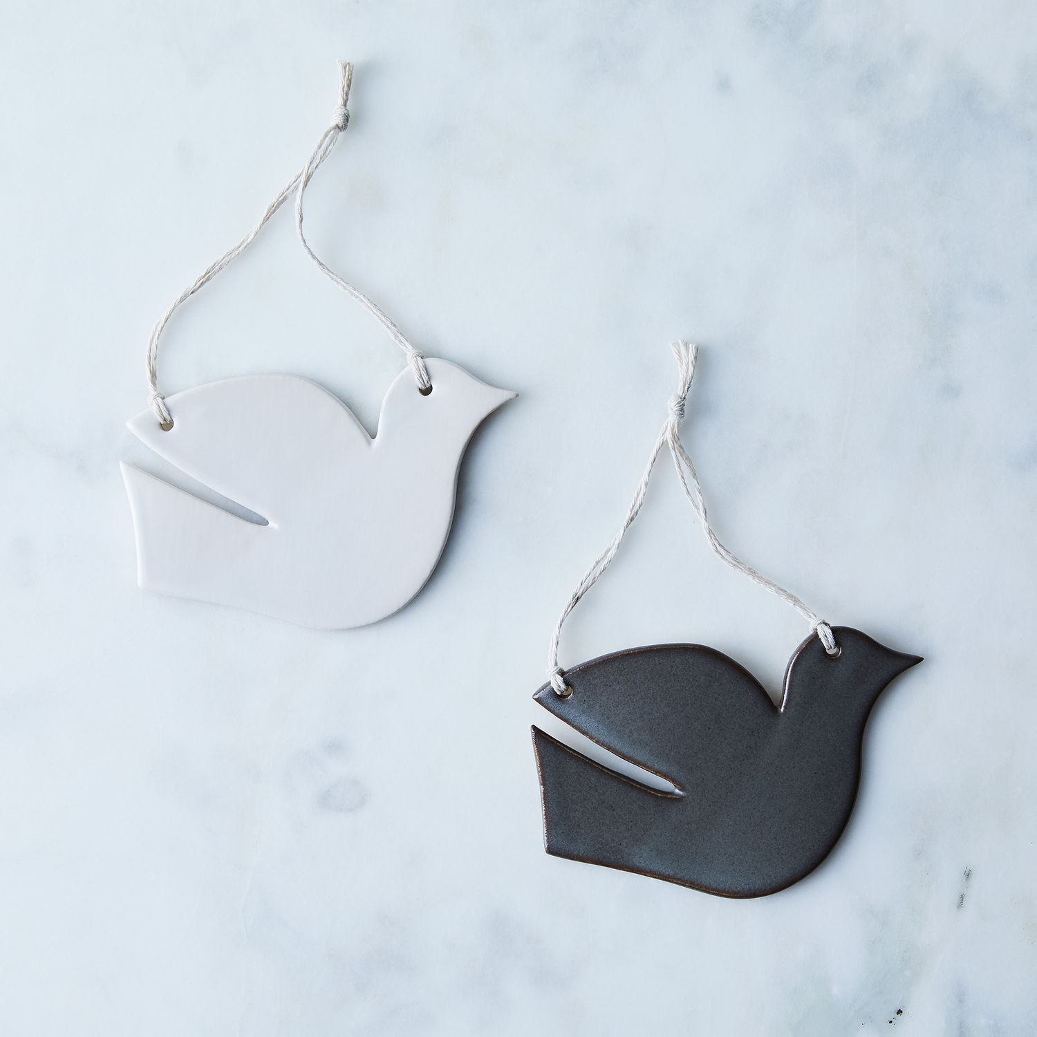 Handmade Ceramic Dove Ornament On Food52