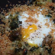 Oysters Rockefeller Hash
