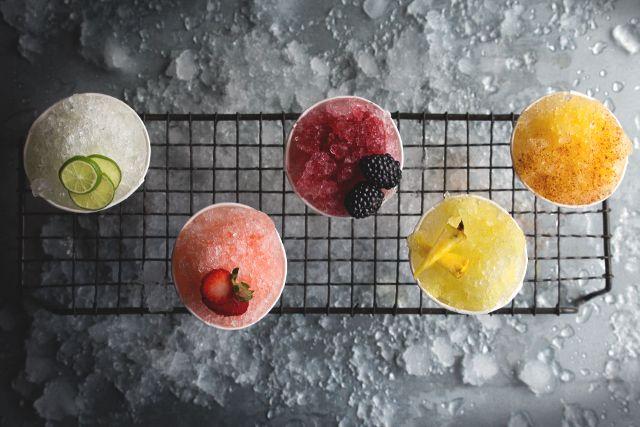 Cocktail Sno-Cones