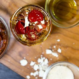 Harissa Marinated Peppadews