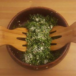 Easy Garlicky Kale Salad