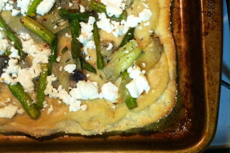 Artichoke, Asparagus, & Mushroom Pizza Recipe on Food52