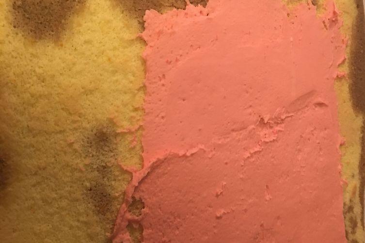 Raspberry Mocha sponge cake