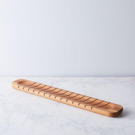 Reclaimed Wood Baguette Slicing Board