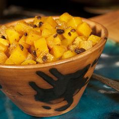 "Finger Lakes Fall Relish: Butternut Squash ""Duet"" with Black Garlic"