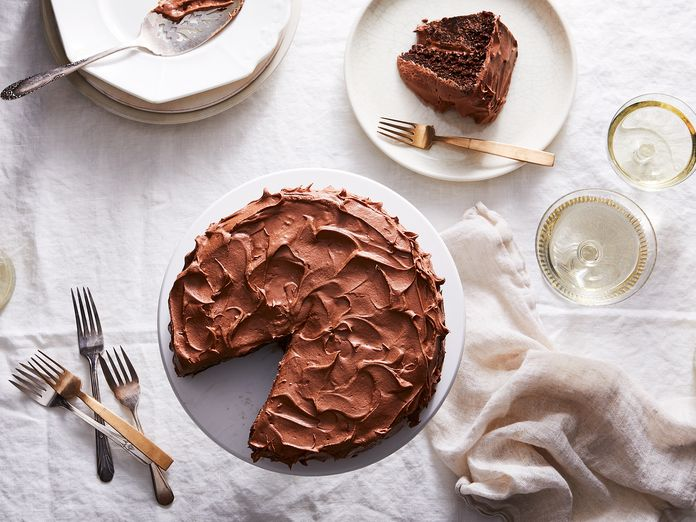 The Story—and Secret Ingredient—Behind Our Genius Vegan Chocolate Cake