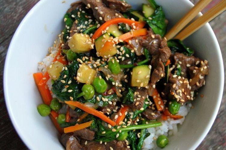 KOREAN BEEF RICE BOWL
