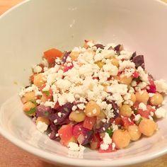 Mediterranean Salad with Smoked Paprika Vinaigrette