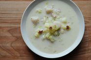 Bay Scallop Chowder