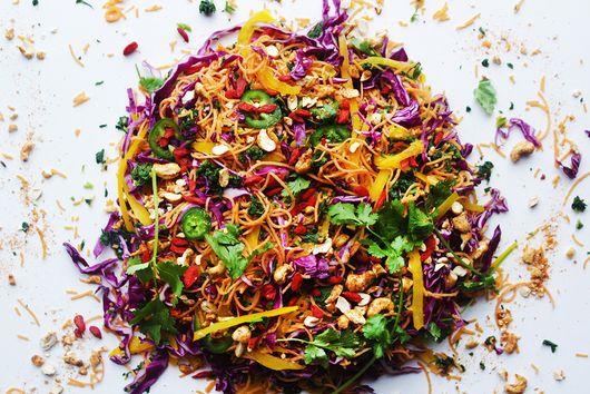 Easy Vegan Pad Thai Supreme