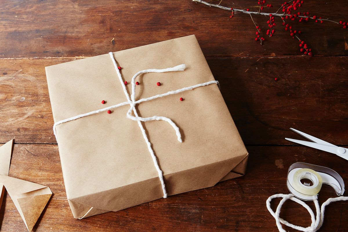 How To Gift Wrap A Box With Invisible Seams 1 Tissue Magic