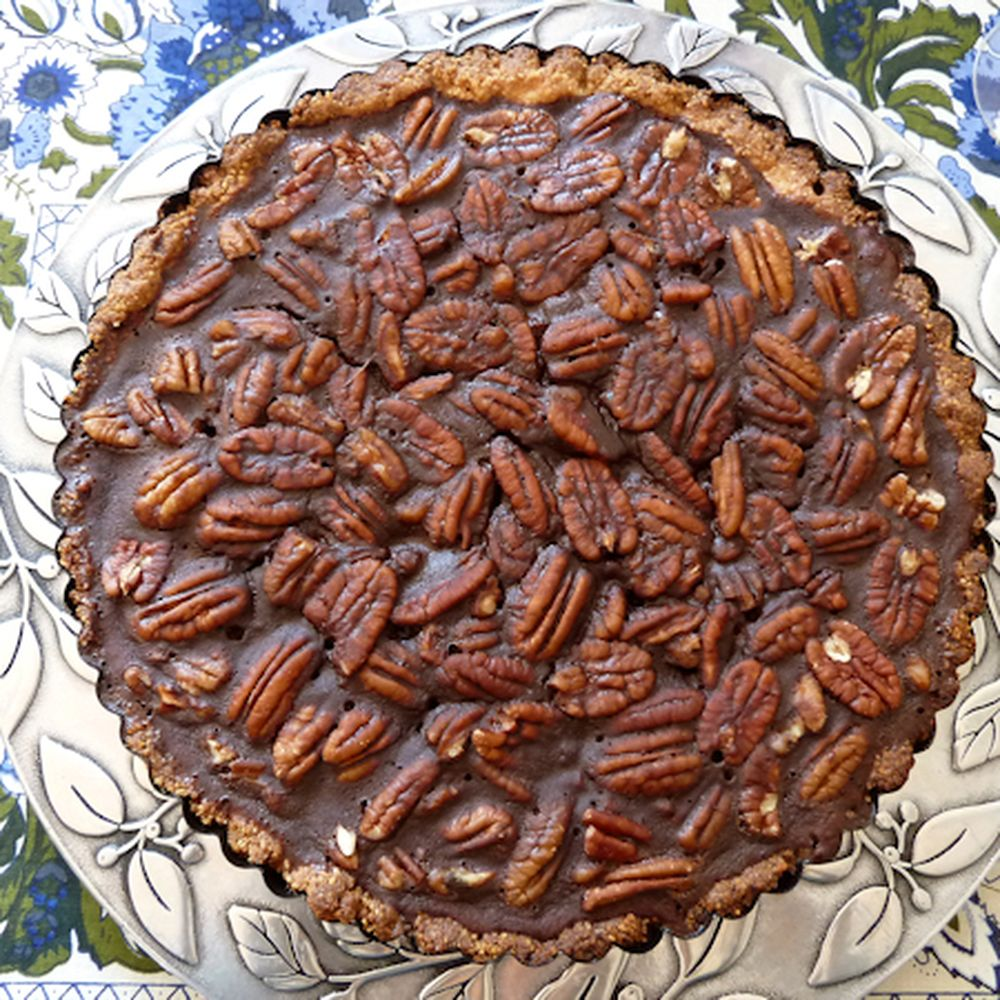 Candied Pecan Tart Recipe On Food52