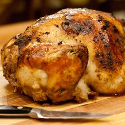Whole Roasted Ginger Soy Chicken
