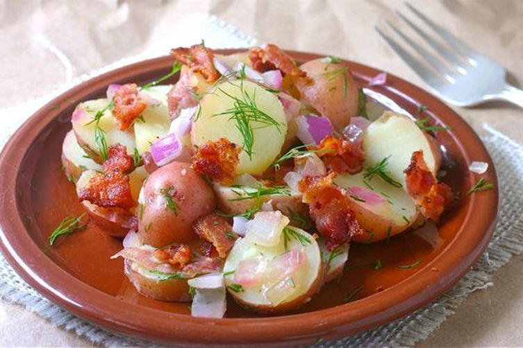 Pennsylvania Dutch Warm Potato Salad