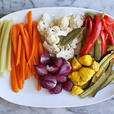 Giardiniera (Italian Pickled Vegetables)