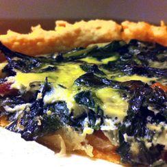 Greens Pie with Smoked-Paprika Crust