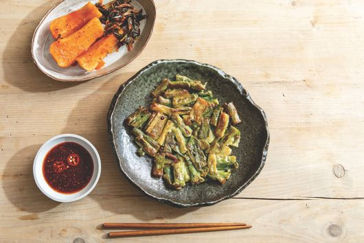 Hooni Kim's Crisp-Golden Pajeon Are All About the Scallions