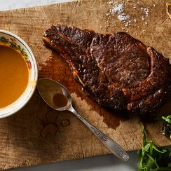 Steak Dinner for One With Fish Sauce & Lime Butter