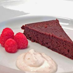 Cardamom Orange Flourless Chocolate Cake
