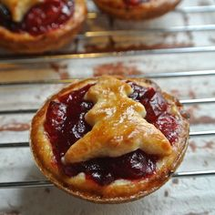 Mini Cranberry Pies