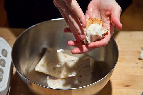 White Gazpacho with Cantaloupe