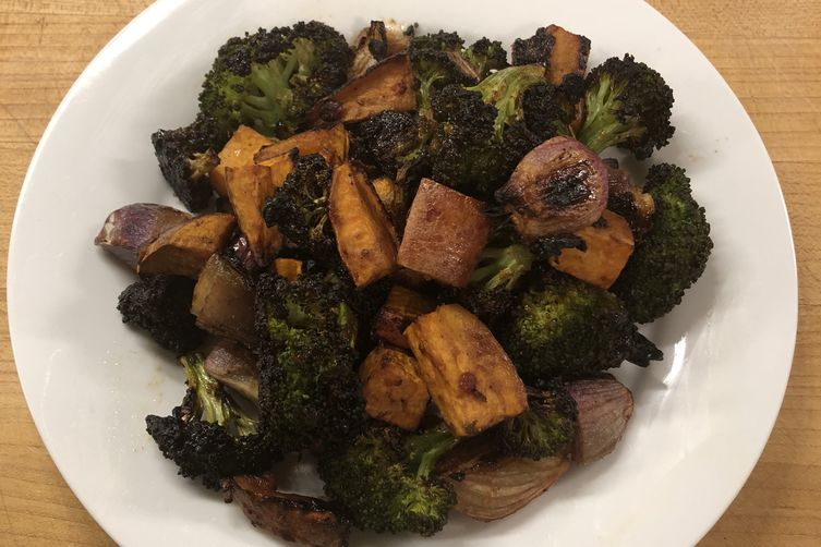 Miso Glazed Vegetables