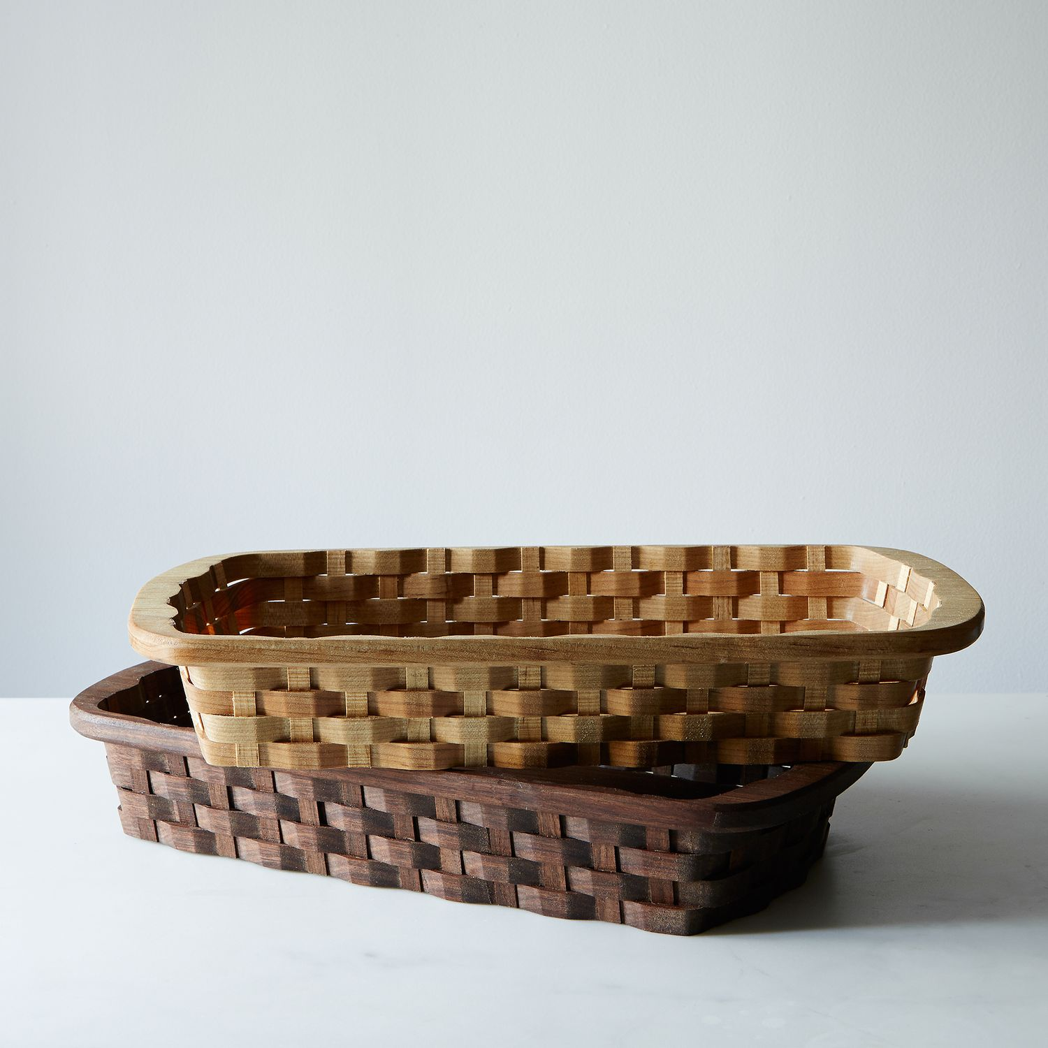 Wood Serving Basket On Food52