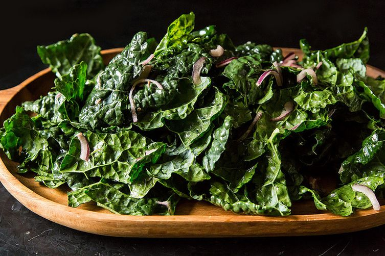 Kale and Anchovy Salad Recipe on Food52