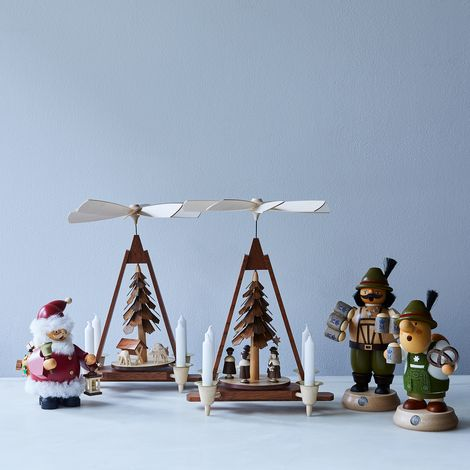 German Handcrafted Holiday Decor
