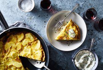 A Simpler (No Flip!) Spanish Tortilla With an Even Simpler Aioli