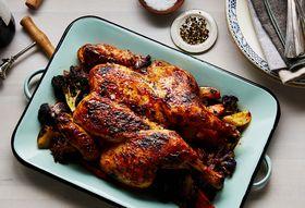 57bc7082 a9d6 4920 94fc 3c6c3585520f  2017 0912 butterflied roast chicken over vegetables bobbi lin 2264