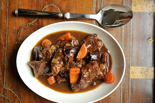 Licorice Root and Malt Beer Beef Stew