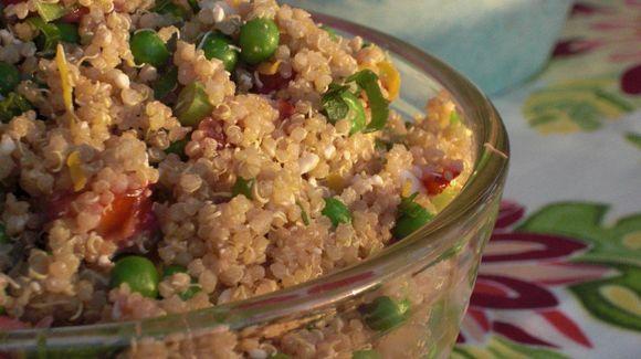 Quinoa Springtime Salad