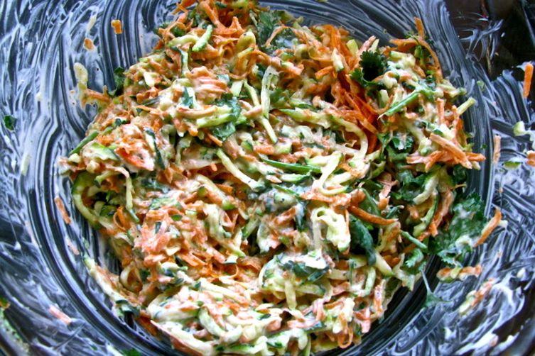 Zucchini-Carrot Slaw
