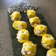 Gougeres with Beef and Horseradish Filling